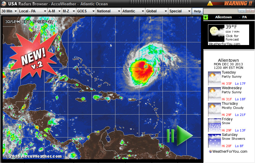 Usaradars free weather pc software weather radars noaa usaradars gumiabroncs Gallery